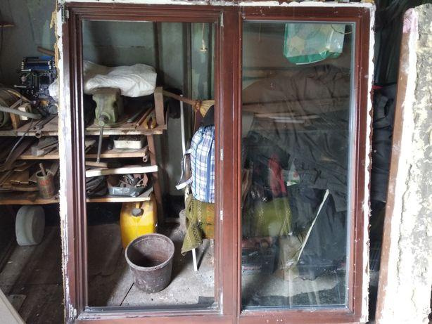Вікно дерев'яне під склопакет