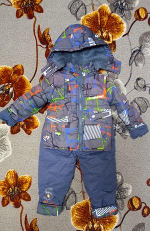 Продам тёплые б/у куртка+комбинезон 2-4. БЕСПЛАТНАЯ доставка!