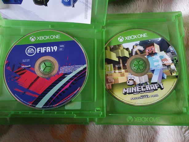 Gra na Xbox One Minecraft