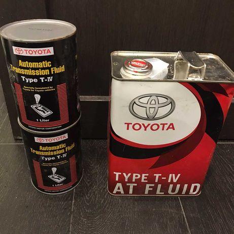 Трансмиссионное масло Toyota ATF TYPE T-IV (Japan) 08886-81015