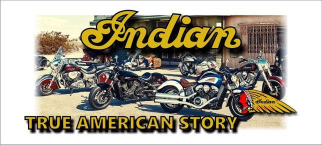 "Kubek na prezent Indian "" True american story"" motocykl"