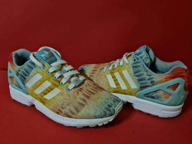 Adidas zx flux 40.5р. 26см кроссовки беговые