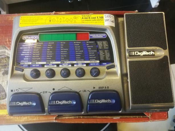 Digitech RPx 400 - multiefekt gitarowy