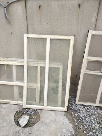 Деревянный окна б/у