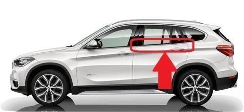Listwa Chrom Chromowana Zewnętrzna Drzwi Lewa Tył BMW X1 E84 2009-