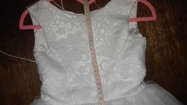 Плаття нарядне святкове біле