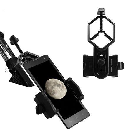 Adapter, Uchwyt,Przejściówka Smartfona do mikroskopu, teleskopu,lunety