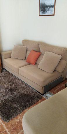 Sofá cama e chaise long