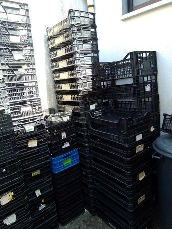Caixas Plástico Pequenas/Médias e Grandes p/Fruta/Legumes ouArrumações