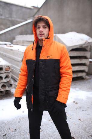 Комплект Зимняя Парка и Штаны + Подарки Чоловічі Теплі Штани Куртка