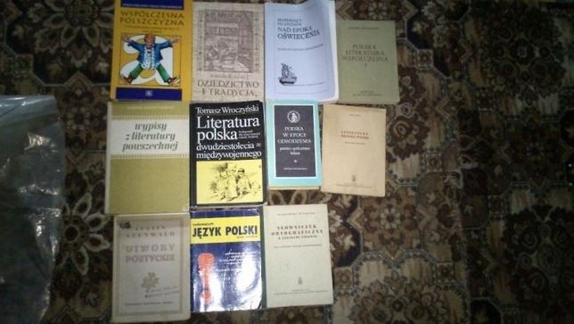 książki - lektury i inne