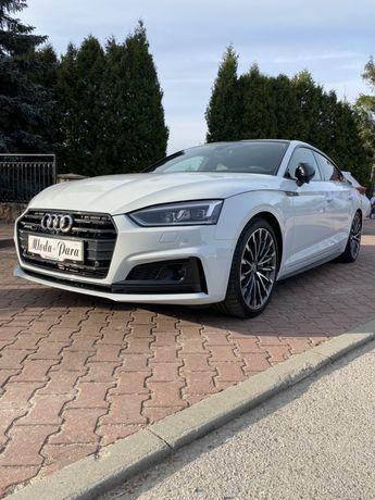 Samochód / Auto do ślubu Audi A5 Sportback S-line do Ślubu