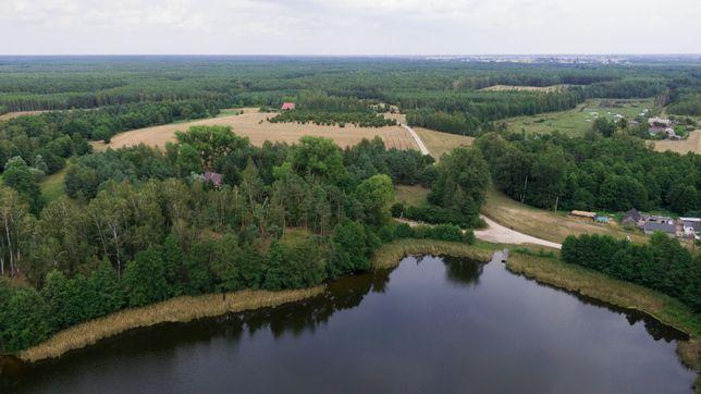 Działka budowlano-rekracyjna 1200m2 nad jeziorem na Poj. Dobrzyńskim