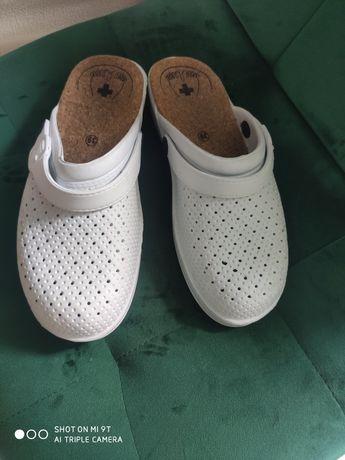 Buty medyczne białe