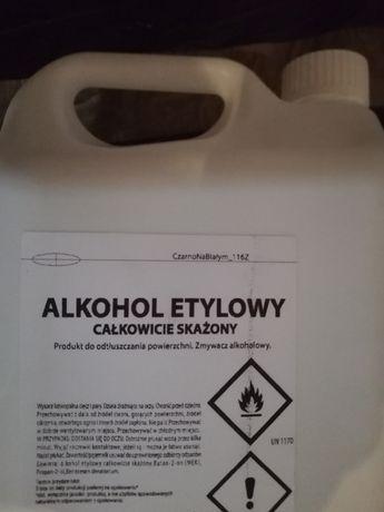 Alkohol etylowy skażony odwodniony 96% 5L , dezynfekujący
