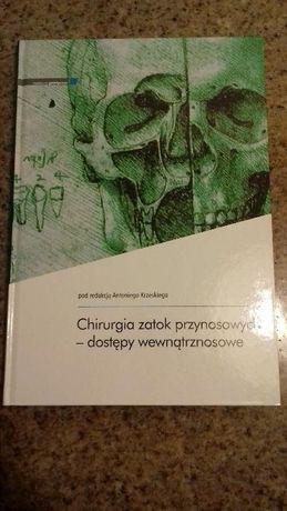 Chirurgia zatok przynosowych Antoni Krzeski książka