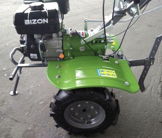 Бензиновый мотоблок Bizon 1100S -3 (редукторный) 190F (7 л.с)Бизон