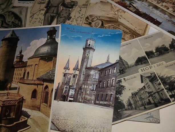 Stare pocztówki niemieckie 1942