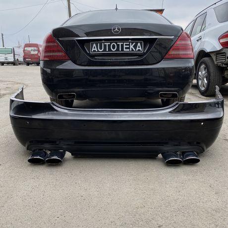 Бампер Выхлоп AMG Mercedes W221 S221 s-class