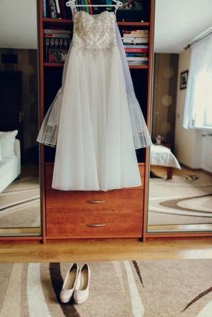 Piękna suknia ślubna / JuliaRosa