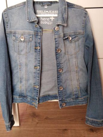 Bluza jeansowa r. 140