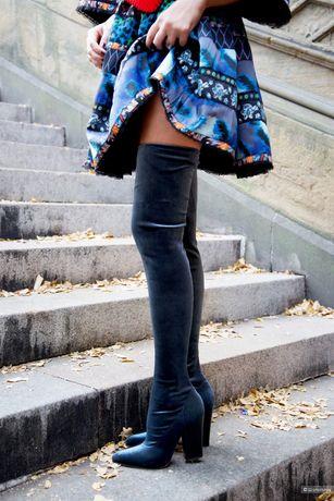 Zara сапоги чулки