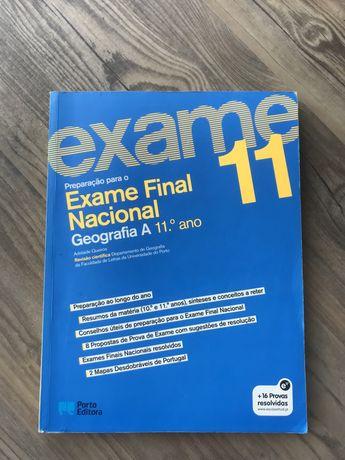 Livro de exame geografia - 11 ano