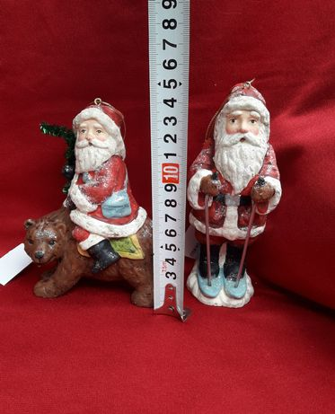 Санта Клаус из гипса