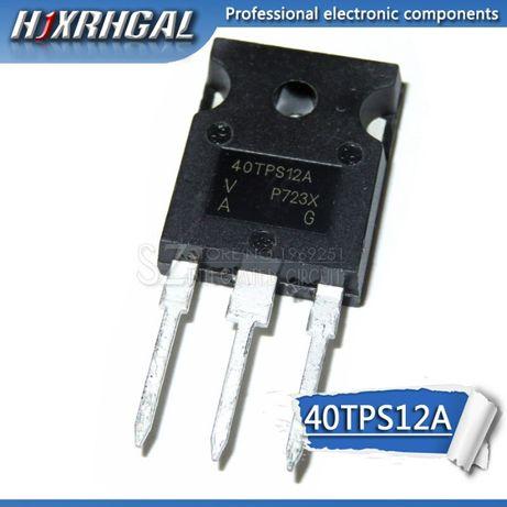 40TPS12 TO-247AC Тиристор 35A 1200V для ремонта стабилизаторов и т.д.
