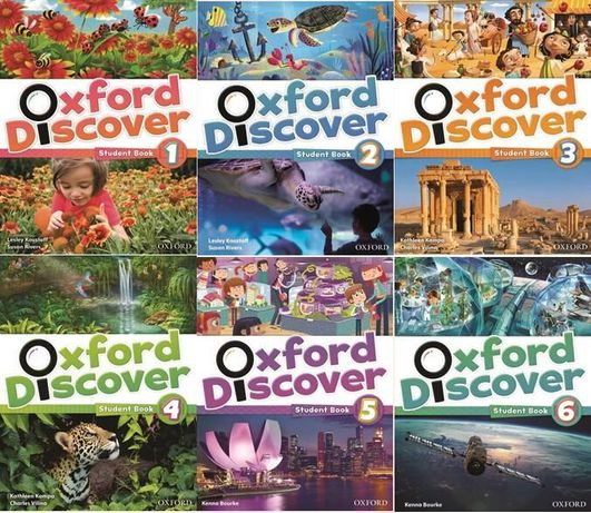 Oxford Discover 1, 2, 3, 4, 5, 6 Student's + workbook
