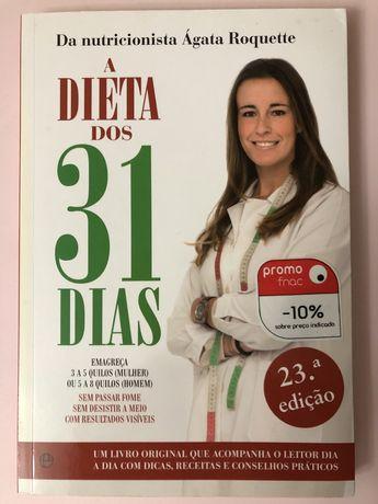 """Livro """"A Dieta dos 31 Dias"""""""