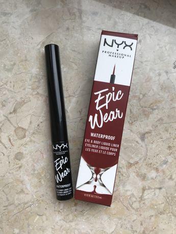 Подводка красная лайнер NYX Professional Makeup Epic Wear для глаз