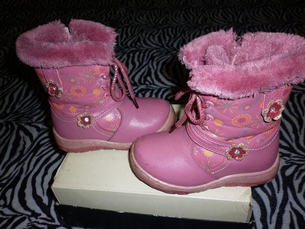 Сапоги-ботинки зимние 27р 18см стелька