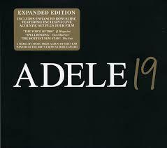 ADELE 19 * Expanded Edition 2xCD * selado em caixa original