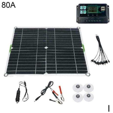 painel fotovoltaico caravana 85w