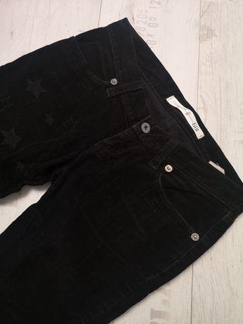 DISEL Черные тёплые велеветовые штаны