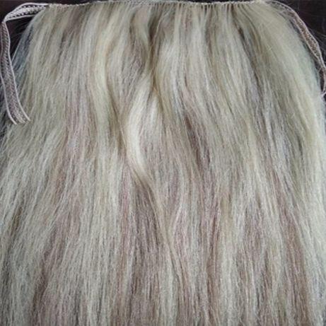 ЛУЧШАЯ цена натуральные волосы: хвост шиньон тресс под заказ Украина
