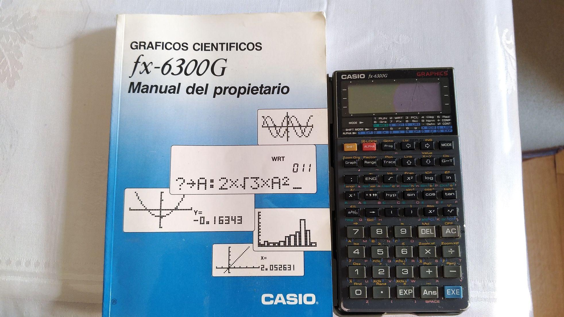 Calculadora Casio fx-6300G Graphics