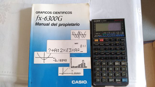 Calculadora Casio fx-6300G Graphics