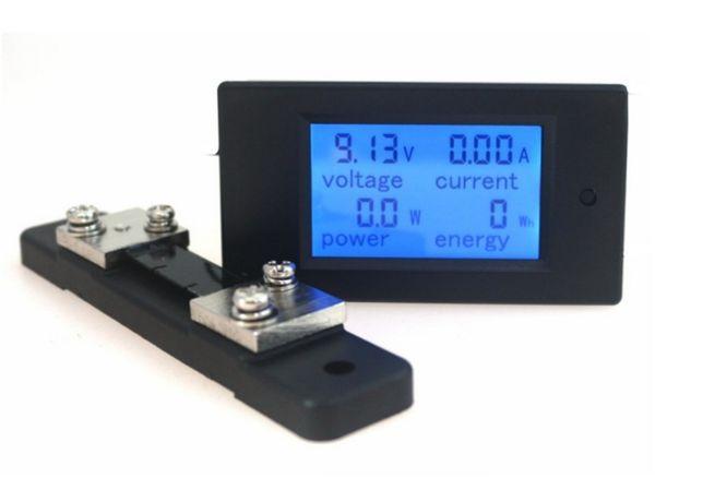 Вольтамперметр, ваттметр, амперметр, контроллер заряда АКБ