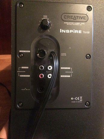 Głośnik basowy creative t6100