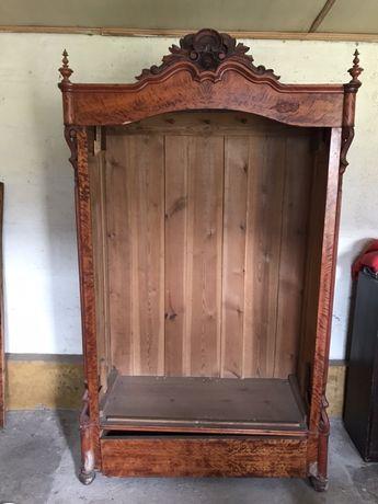 Drewniana szafa (150lat) antyk ,do renowacji