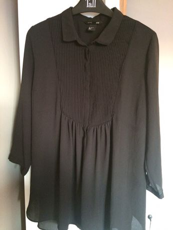Sliczna czarna koszula ciazowa H&M