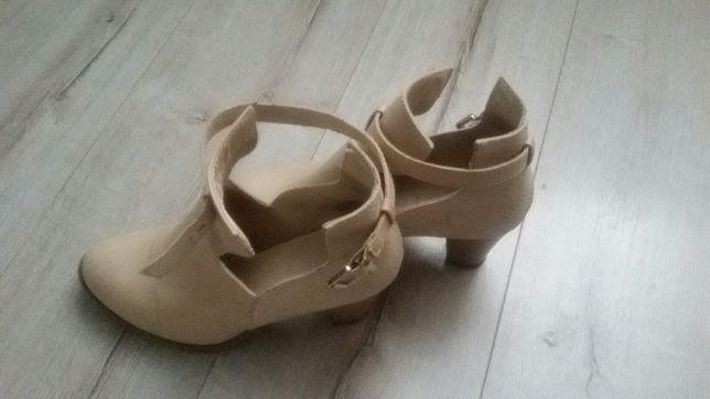 Buty botki półbuty