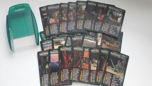 Карточки с динозаврами