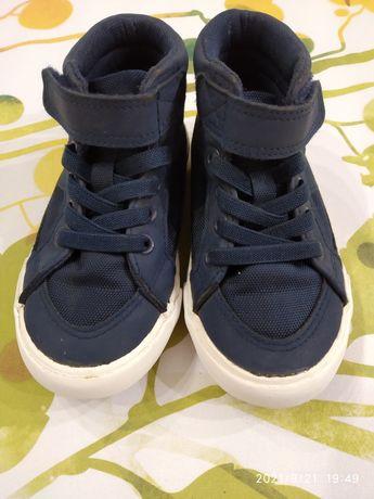 Кеды кроссовки хайтопы H&M 24p. 15 cм.