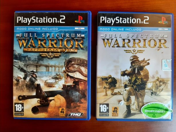 Pack Full Spectrum Warrior playstation 2
