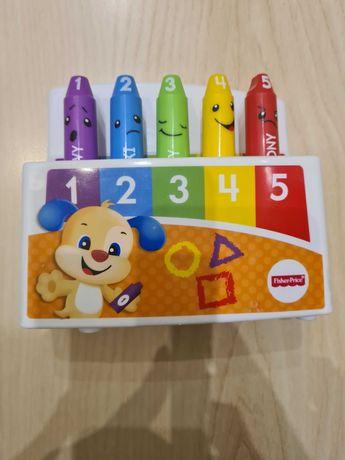 Zestaw 3 zabawek Fisher Price dla niemowlaka