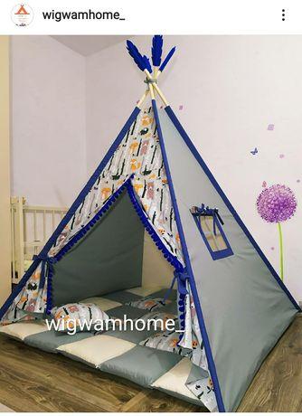 Большой вигвам, вігвам, детская палатка