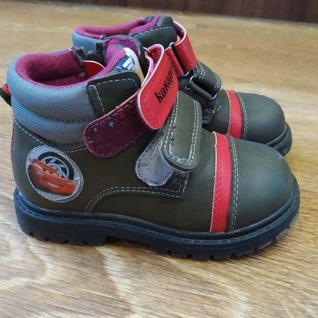 Осенние ботинки канарейки